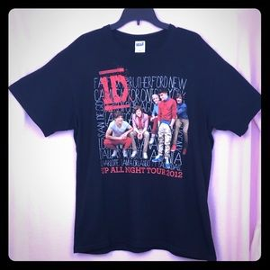 One Direction 1D Up All Night Tour 2012 T-Shirt
